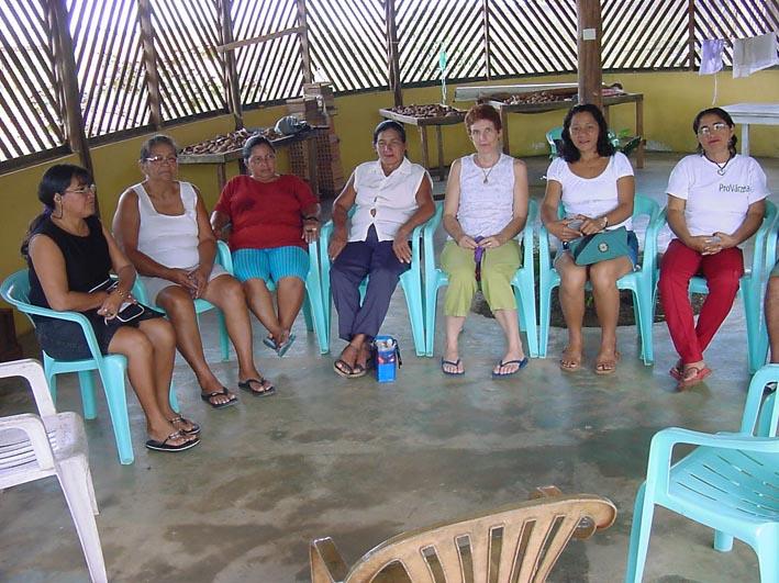 Mitarbeiterinnen der Frauen-Kooperative